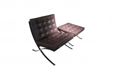 Knoll Barcelona chair relax incl. ottoman