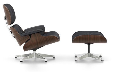 Eames Lounge Chair Tweedehands.Vitra Eames Lounge Chair Ottoman Tweedehands Kopen Bij