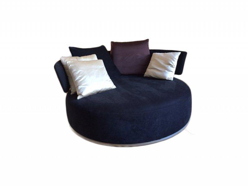 b b italia maxalto amoenus swivel sofa. Black Bedroom Furniture Sets. Home Design Ideas