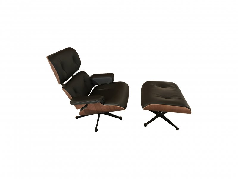 Eames Lounge Chair Tweedehands.Vitra Eames Lounge Chair Incl Ottoman Tweedehands Kopen Bij