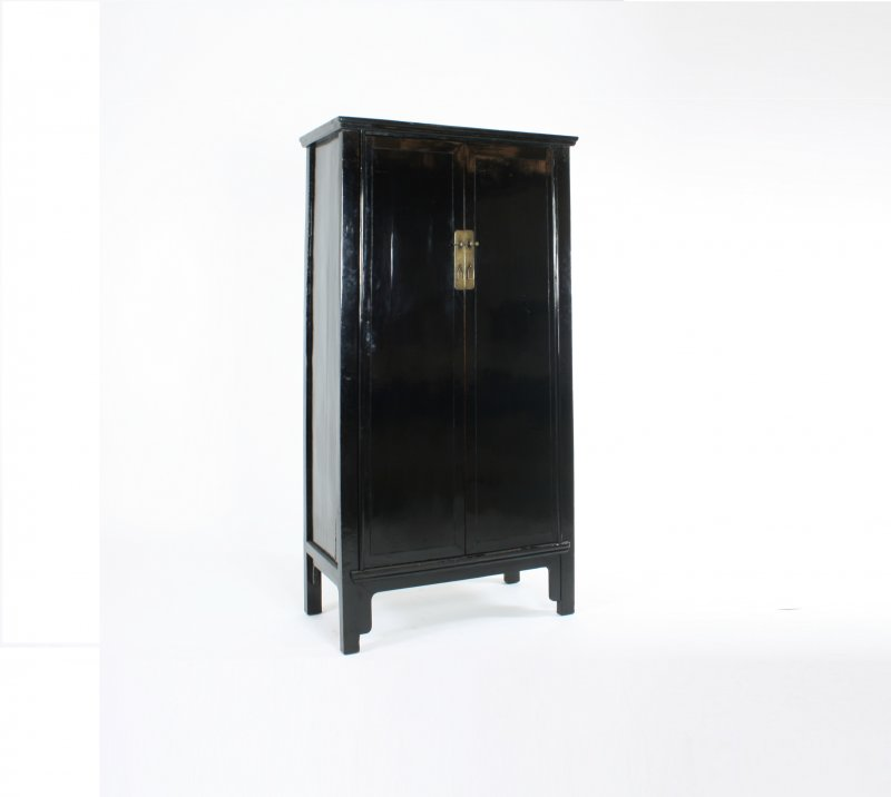 Kast Hoogglans Zwart: Kleur hoogglans zwart grijs rood. Badkamer ...