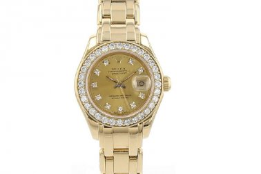 Rolex Pearlmaster 29 Yellow Gold Diamonds