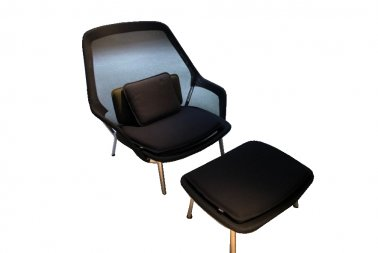 Vitra Slow chair + ottoman