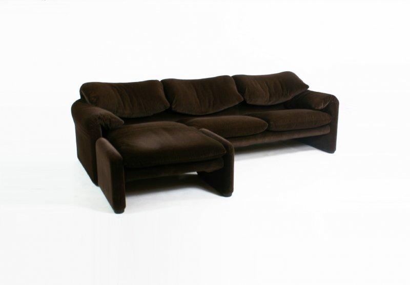 Amazing Cassina Maralunga 3 Zits Sofa Ottoman 2 Tweedehands Dailytribune Chair Design For Home Dailytribuneorg