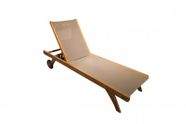 Traditional Teak Kate lounger