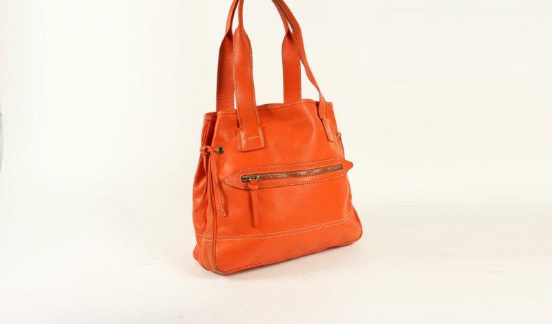a96580f8da0 Hogan oranje leren tas tweedehands kopen bij secondluxury.nl