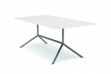Fuera Dentro Shell dining table white