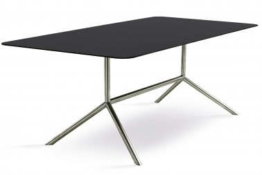 Fuera Dentro Shell dining table black
