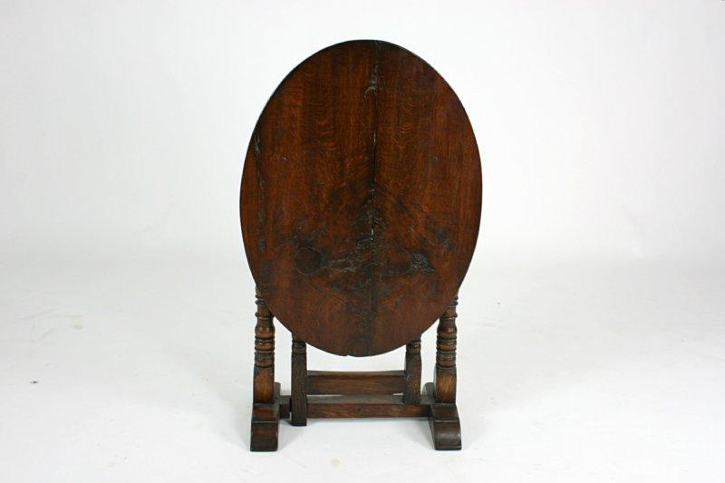 Antieke Eikenhouten Salontafel.Antieke Ovale Klaptafel Eikenhout Tweedehands Kopen Bij